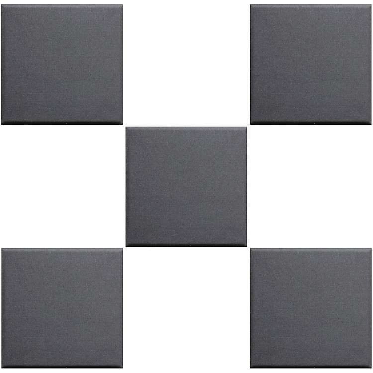 Primacoustic Broadway Scatter Blocks with Beveled Edges 1 X 12 X 12 Gray