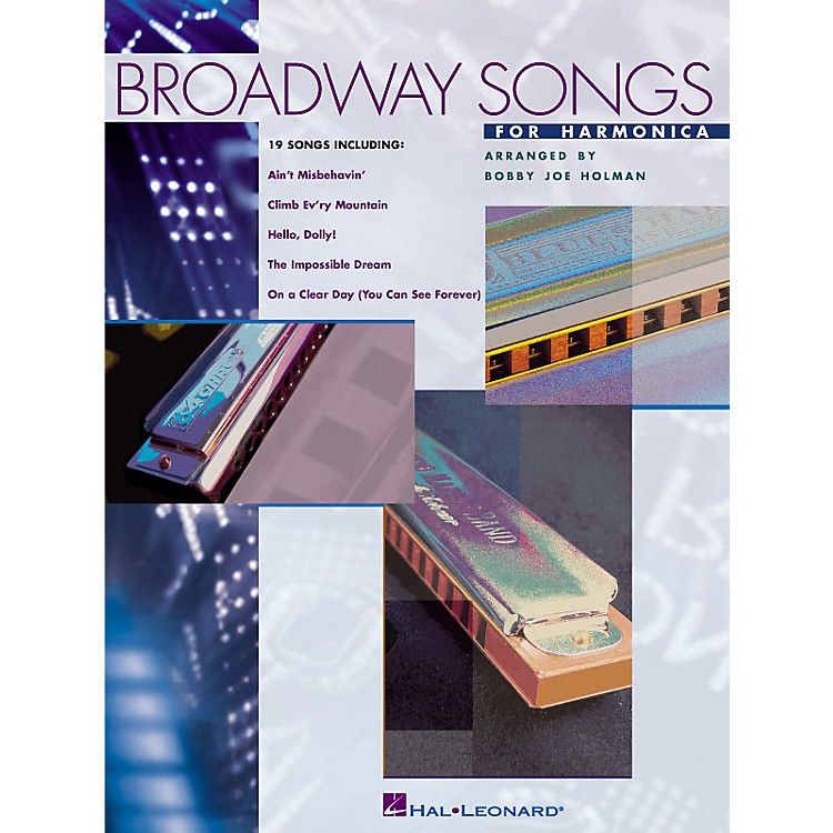 Hal Leonard Broadway Songs for Harmonica Harmonica Series
