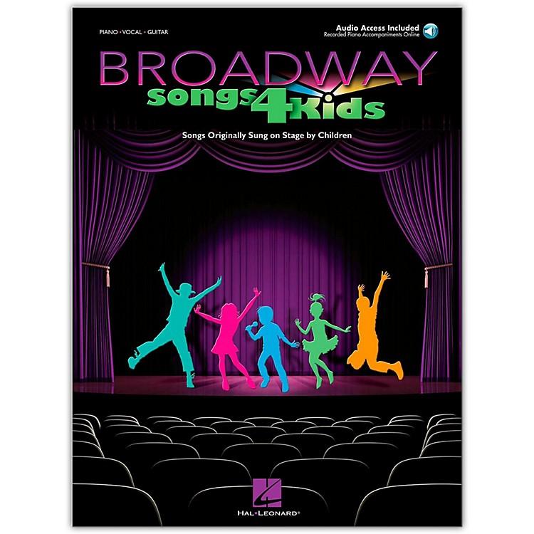 Hal LeonardBroadway Songs for Kids Book/CD