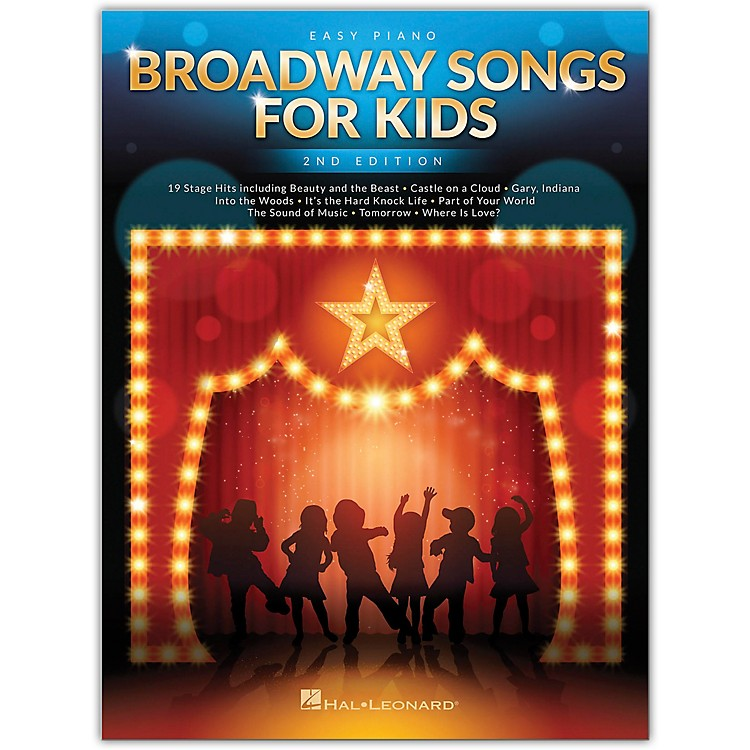 Hal LeonardBroadway Songs for Kids for Easy Piano - 2nd Edition