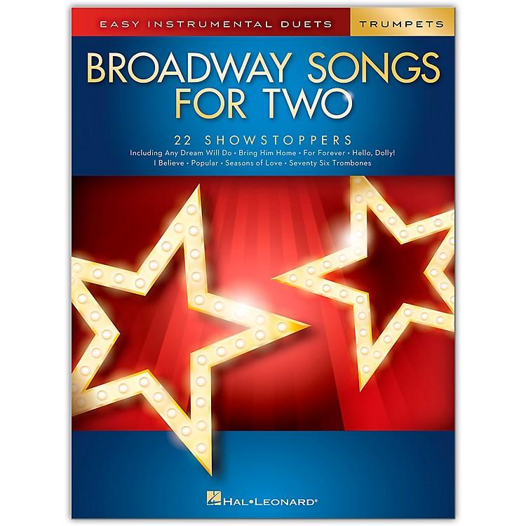 Hal LeonardBroadway Songs for Two Trumpets - Easy Instrumental Duets