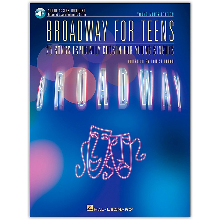 Hal Leonard Broadway for Teens - Young Men's Edition Book/Online Audio