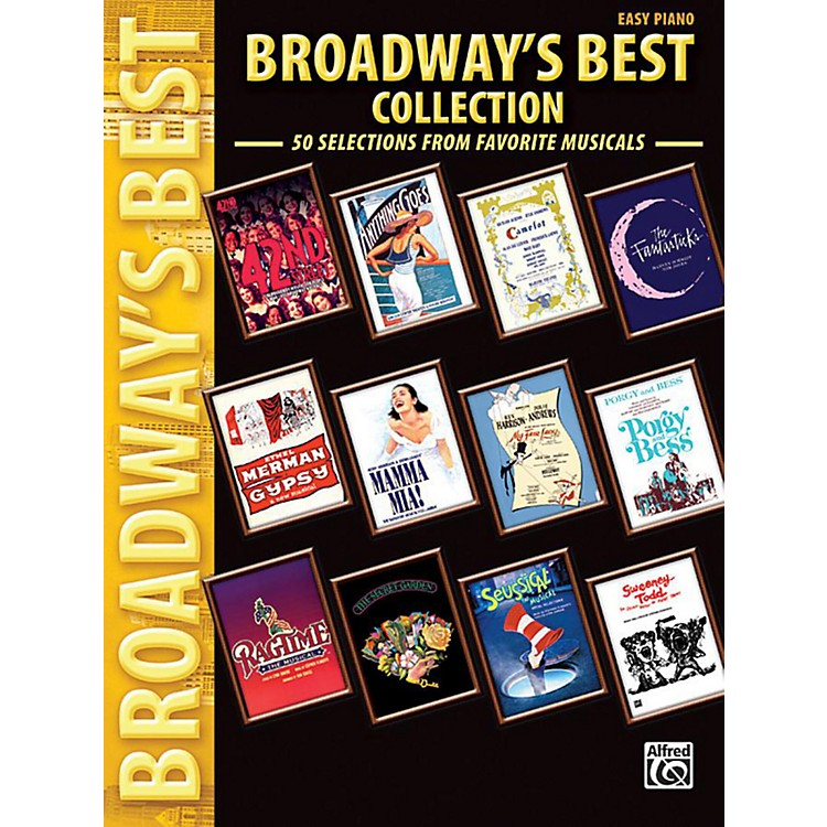AlfredBroadway's Best Collection Easy Piano Book