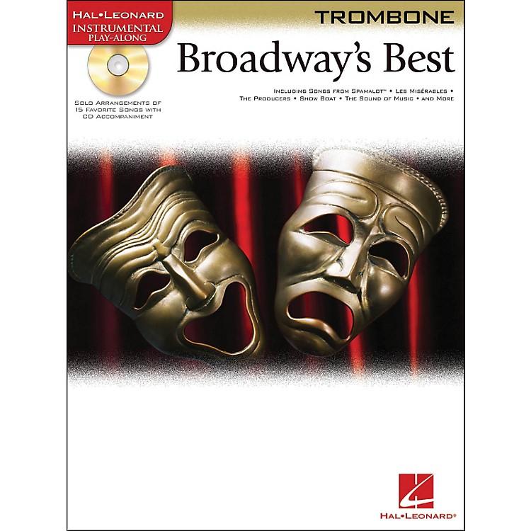 Hal LeonardBroadway's Best For Trombone Book/CD