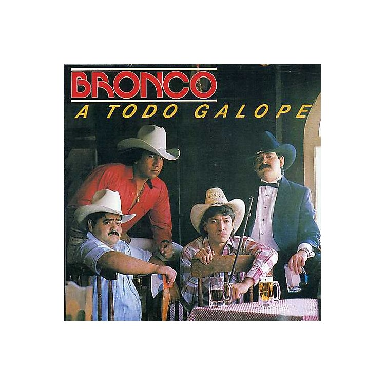 Alliance Bronco - A Todo Galope (CD)