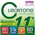 Cleartone Bronze Custom Acoustic Guitar Strings