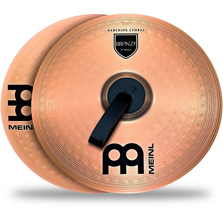 MeinlBronze Marching Cymbal Pair18 in.