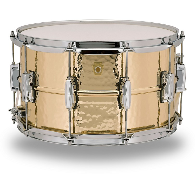 LudwigBronze Phonic Hammered Bronze Snare Drum14 x 8 in.
