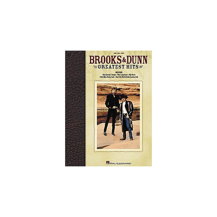 Hal Leonard Brooks and Dunn - Greatest Hits Book