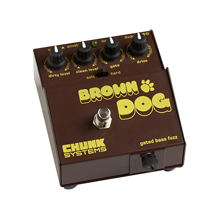 Chunk Systems Brown Dog Gated Bass Fuzz Pedal
