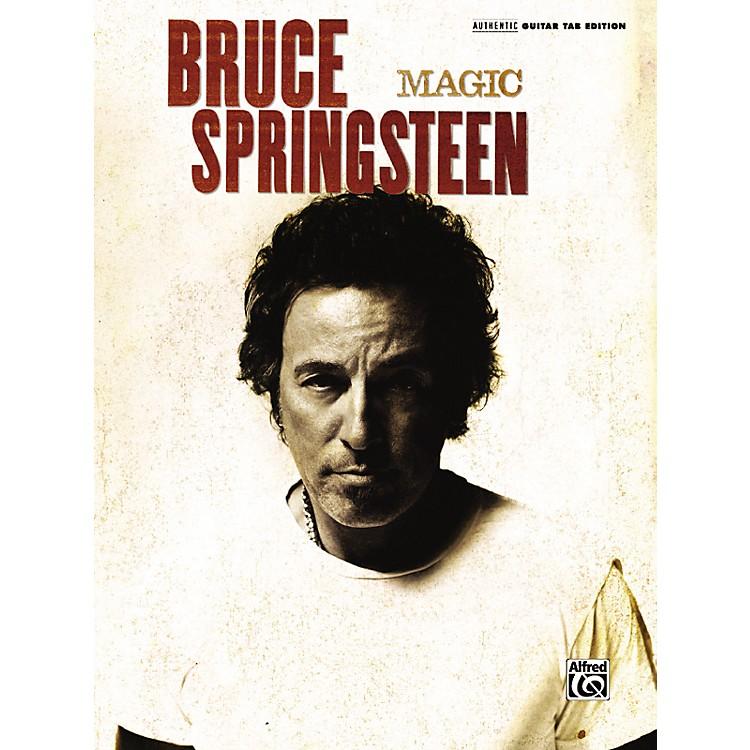 AlfredBruce Springsteen - Magic Guitar Tab