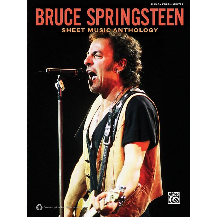 AlfredBruce Springsteen - Sheet Music Anthology Book