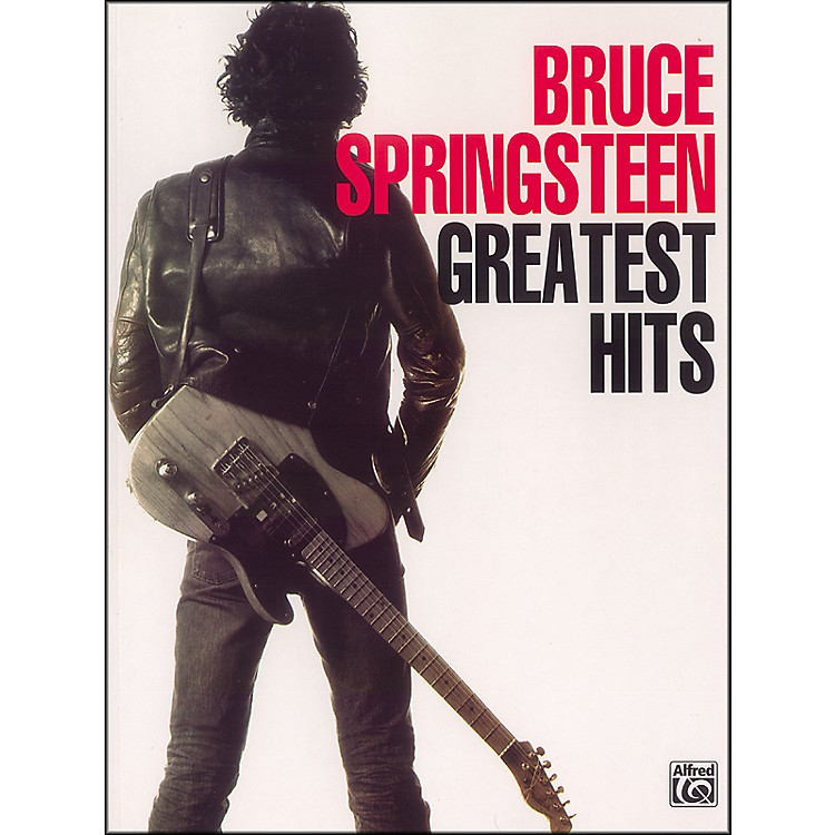 AlfredBruce Springsteen Greatest Hits Piano/Vocal/Chords