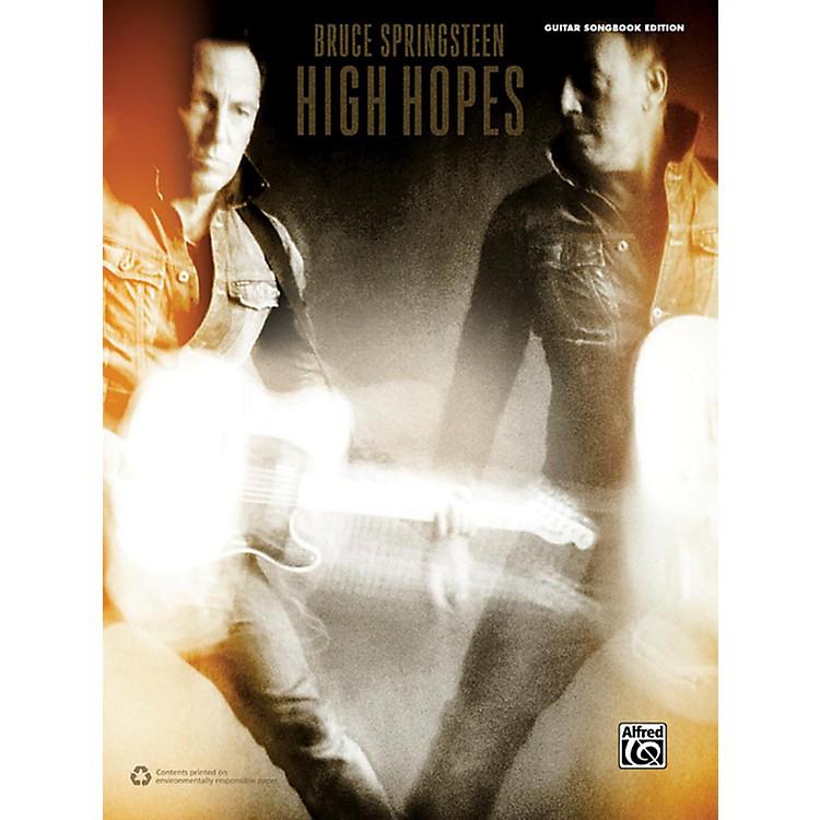 AlfredBruce Springsteen High Hopes Guitar Songbook Edition