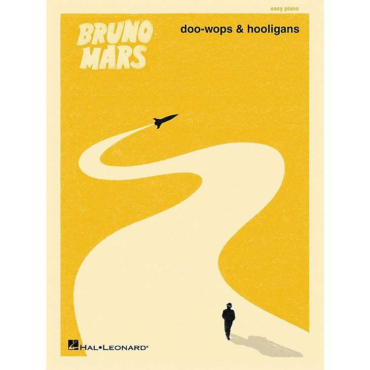 Hal LeonardBruno Mars - Doo-Wops And Hooligans For Easy Piano