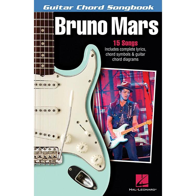 Hal LeonardBruno Mars - Guitar Chord Songbook