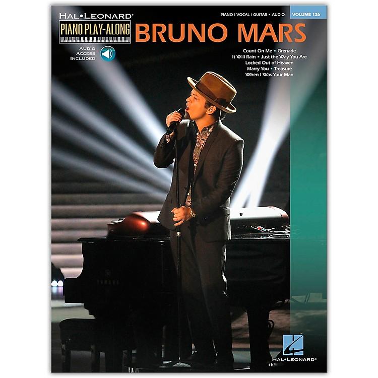Hal LeonardBruno Mars - Piano Play-Along Volume 126 Book/Online Audio
