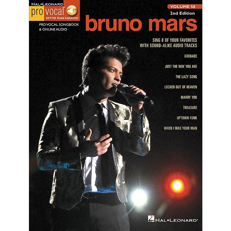 Hal LeonardBruno Mars (Pro Vocal Men's Edition Volume 58) Pro Vocal Series Softcover Audio Online