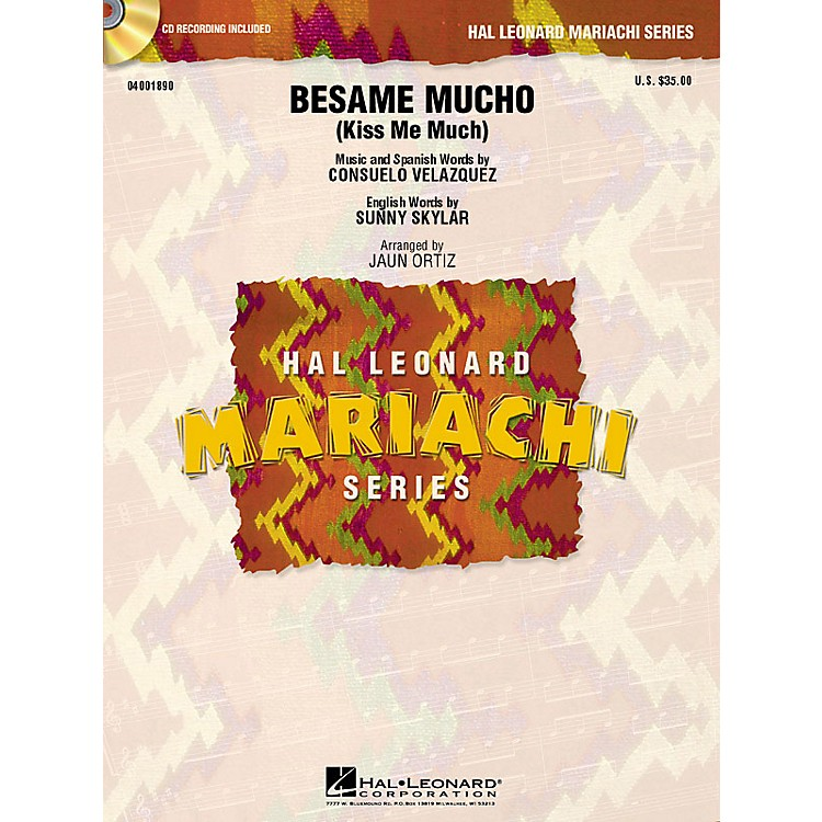 Hal Leonard Bésame Mucho (Kiss Me Much) Concert Band Level 3 Arranged by Juan Ortiz