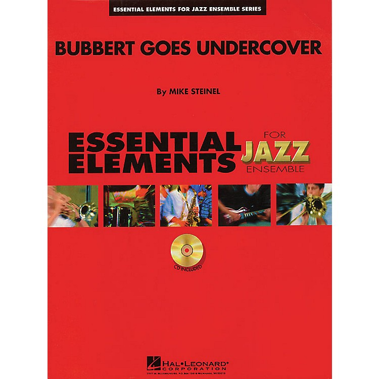 Hal Leonard Bubbert Goes Undercover Jazz Band Level 1.5 Arranged by Mike Steinel