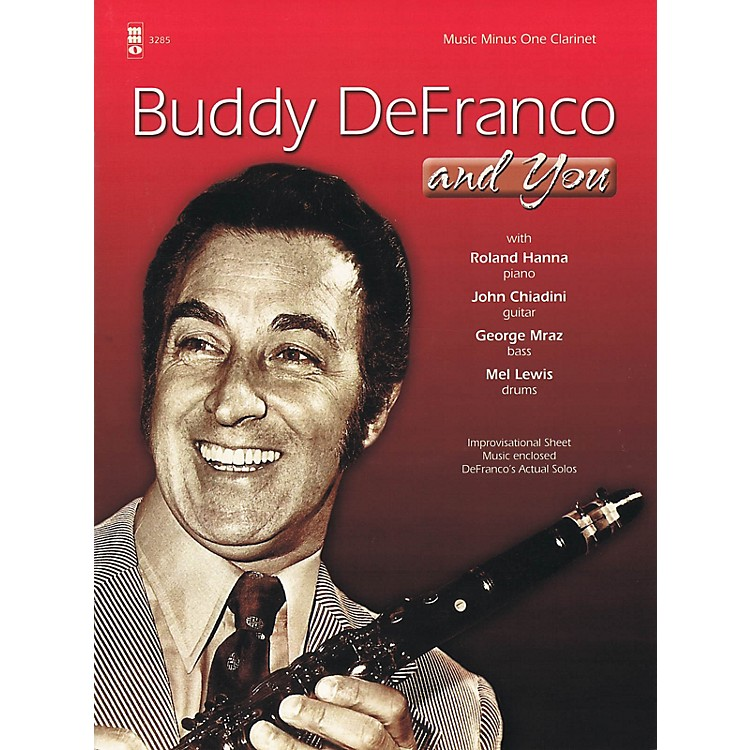 Music Minus OneBuddy DeFranco and You Music Minus One Series BK/CD Performed by Buddy DeFranco