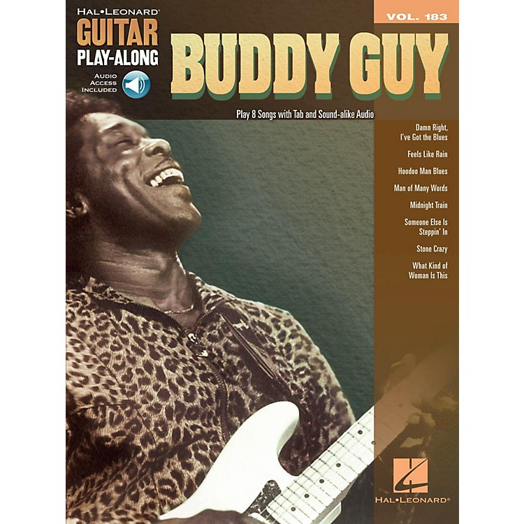 Hal Leonard Buddy Guy - Guitar Play-Along Volume 183 (Book/Audio Online)