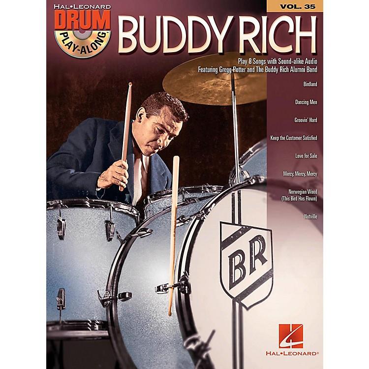 Hal LeonardBuddy Rich - Drum Play-Along Volume 35 Book/Audio Online