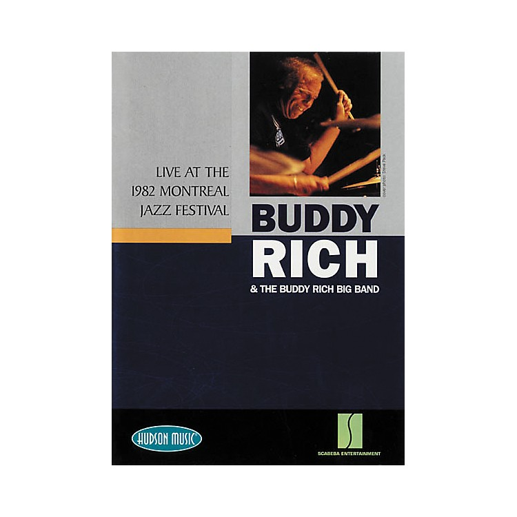 Hudson MusicBuddy Rich Live at 1982 Montreal Jazz Festival (DVD)
