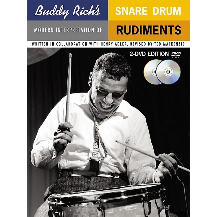 Music SalesBuddy Rich's Modern Interpretation Of Snare Drum Rudiments 2-DVD Edition