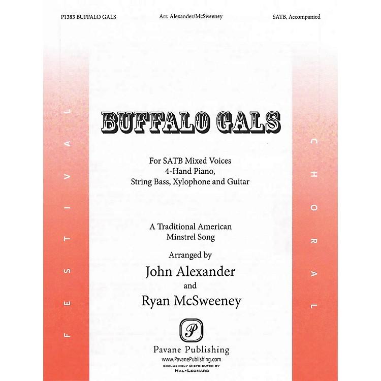 PavaneBuffalo Gals SATB arranged by John Alexander
