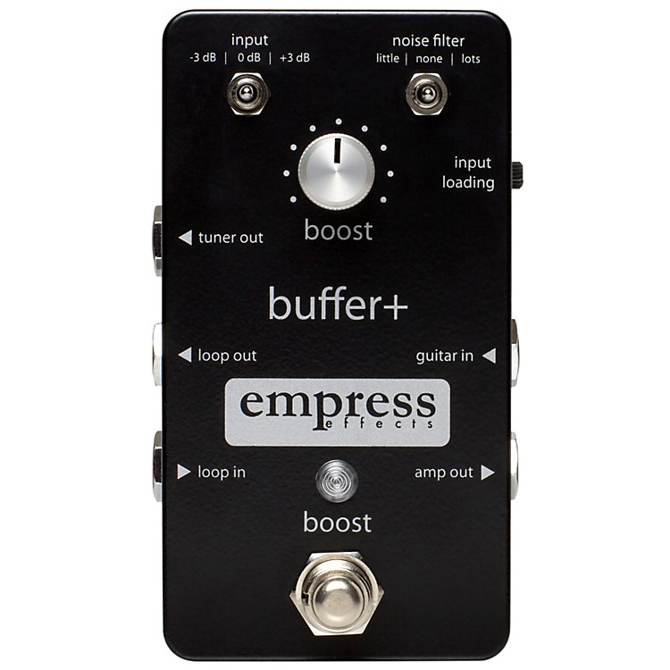 Empress Effects Buffer+ Analog I/O Interface Guitar Pedal with Switchable Boost