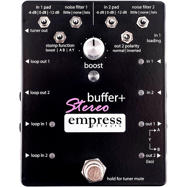 Empress EffectsBuffer+ Stereo Guitar Effects Pedal