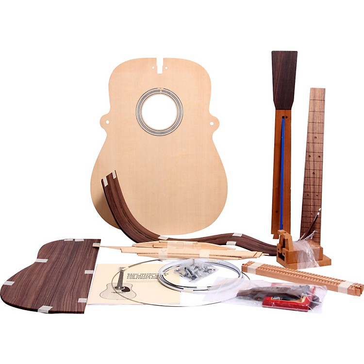 Martin Build Your Own Guitar Kit  Rwood Dreadnought Herringbone