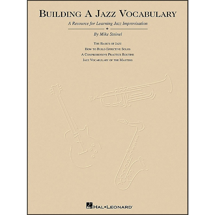 Hal Leonard Building A Jazz Vocabulary