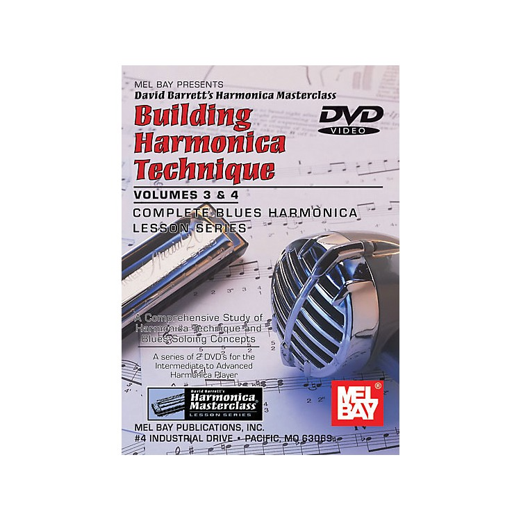 Mel BayBuilding Harmonica Technique Volumes 3 & 4 DVD