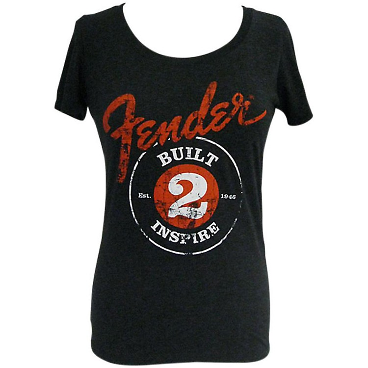 FenderBuilt 2 Inspire Ladies T-Shirt