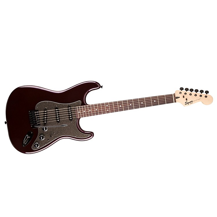 FenderBullet SSS Stratocaster Electric GuitarPurple Metallic