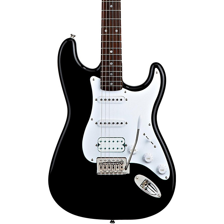 SquierBullet Stratocaster HSS Electric Guitar with TremoloBlack