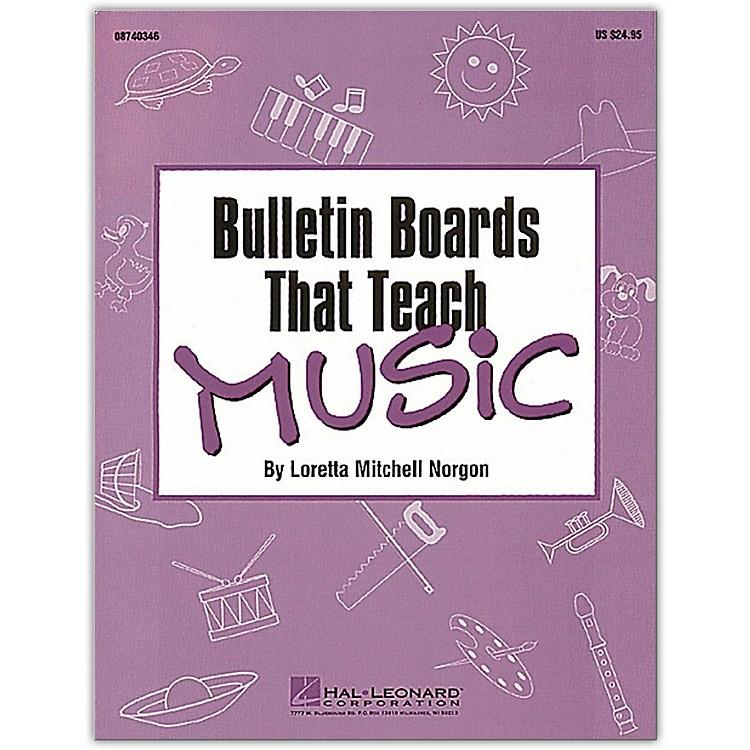 Hal LeonardBulletin Boards That Teach Music Book