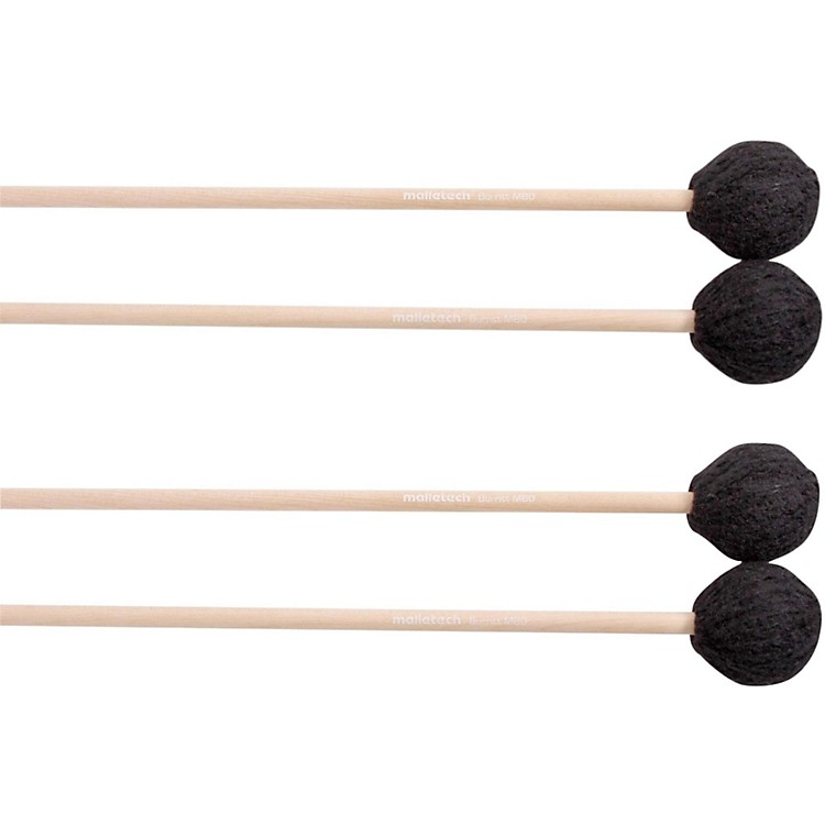 Malletech Burritt Marimba Mallets Set of 4 (2 Matched Pairs) 0