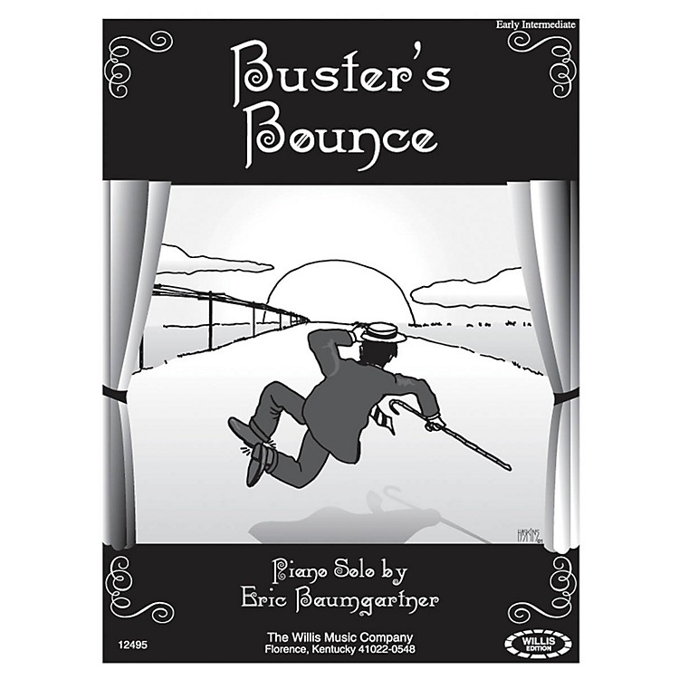 Willis MusicBuster's Bounce (Early Inter Level) Willis Series by Eric Baumgartner
