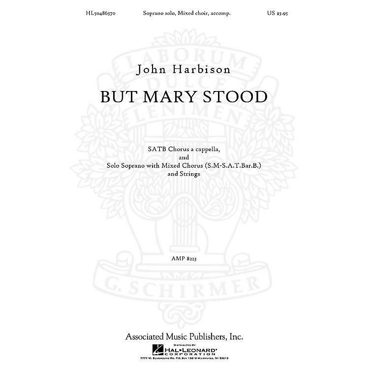 AssociatedBut Mary Stood SATB composed by John Harbison