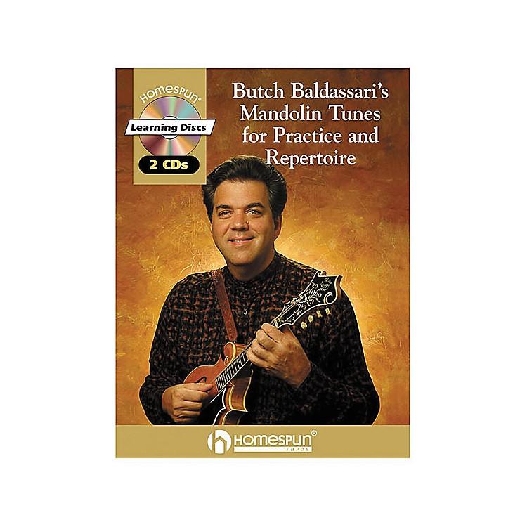 HomespunButch Baldassari's Mandolin Tunes for Practice & Repertoire Book with CD