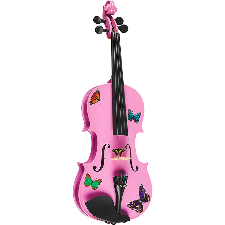 Rozanna's ViolinsButterfly Dream Lavender Series Violin Outfit4/4 Size