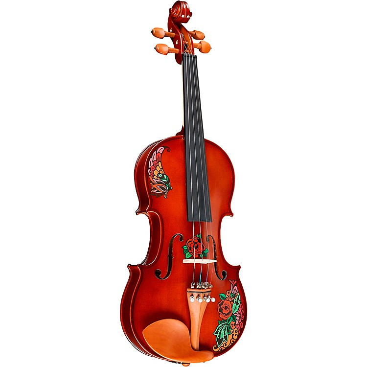 Rozanna's ViolinsButterfly Rose Tattoo Series Violin Outfit4/4
