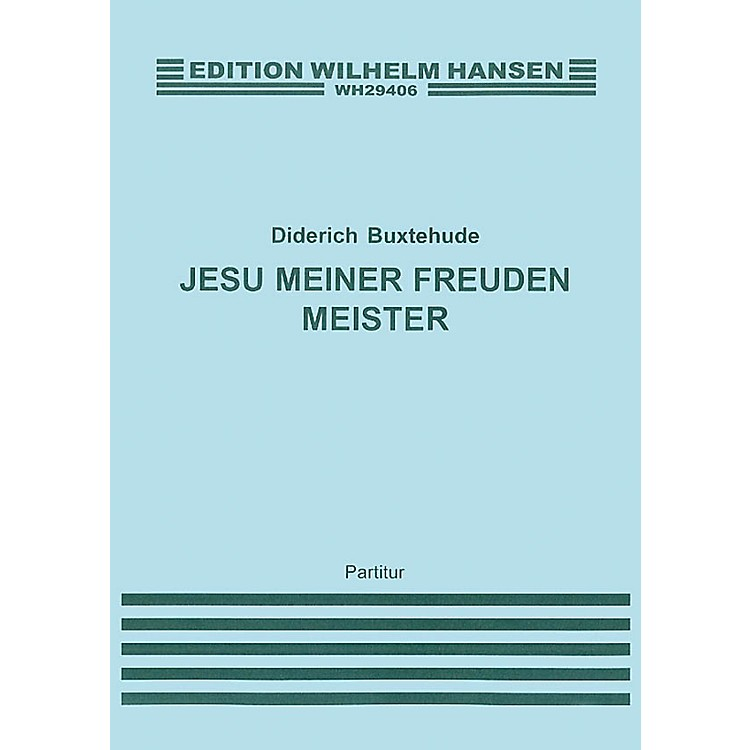 Music SalesBuxtehude, D Jesu Meiner Freiden Meister Satb/Strings/Cont (G,e) Music Sales America Series