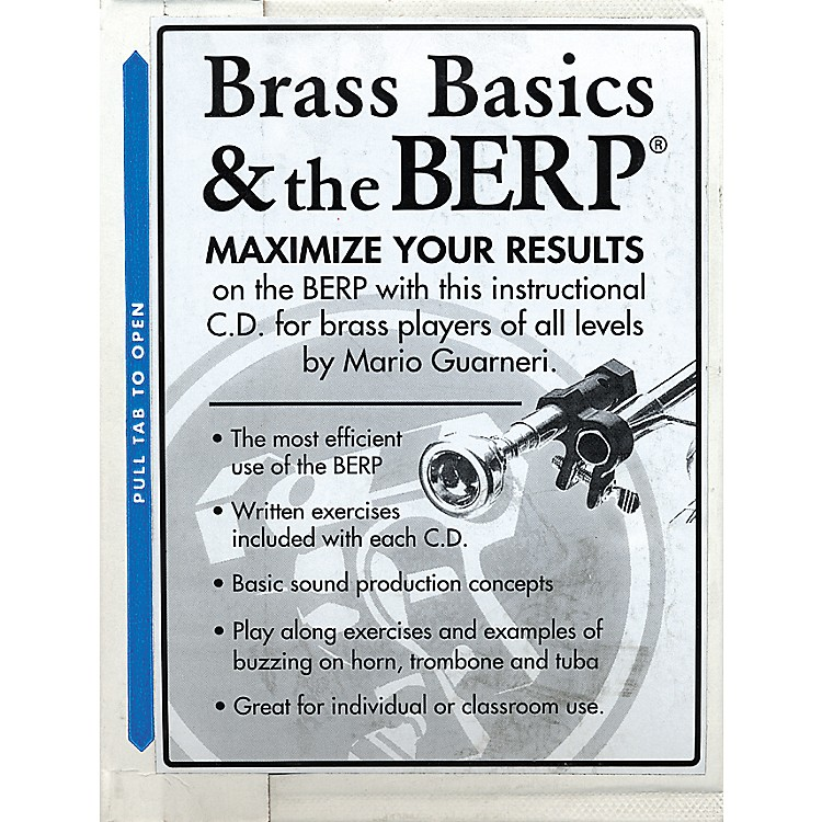 BerpBuzz Extension and Resistance Piece Brass Basics and The B.E.R.P. CD
