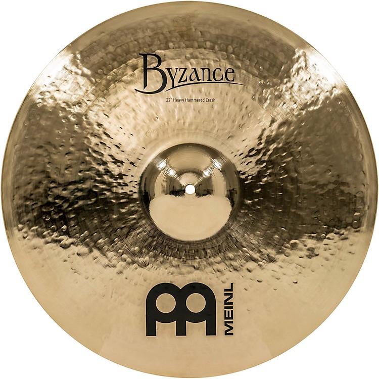 MeinlByzance Brilliant Heavy Hammered Crash Cymbal22 in.
