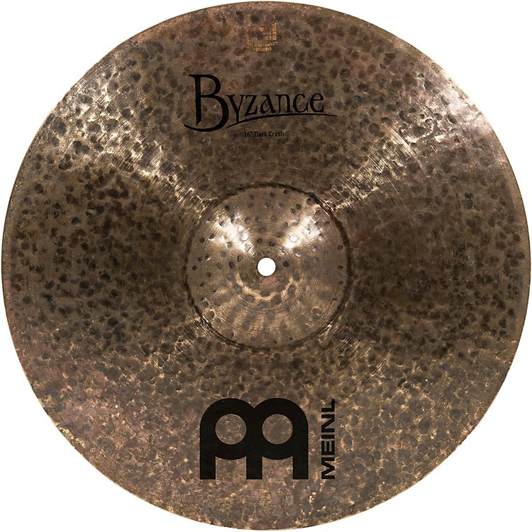 MeinlByzance Dark Crash Cymbal16 in.