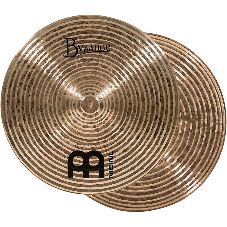 Meinl Byzance Dark Spectrum Hi-hat Cymbals 14 in.